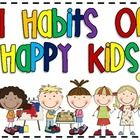 Are you a fan of 7 Habits for Happy Kids? These posters are a perfect fit with that program!    Included are the seven habits, their tagline, and the...