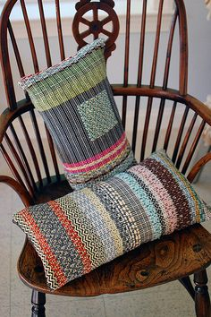 new rag rosepath pillows by Susan Johnson