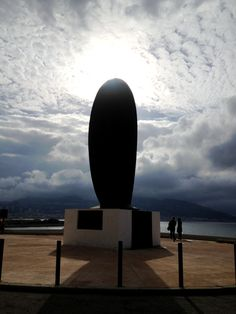 Monument to the French refugees of the Algerian War of Independence, Corniche, Marseille