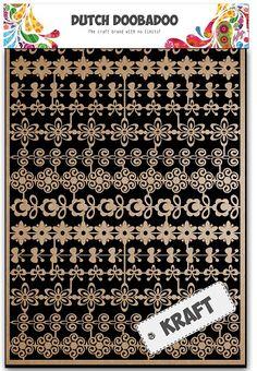 479.002.002 Dutch Paper Art Kraft bloemenrand