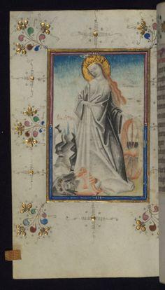 "sexycodicology:  "" Illuminated Manuscript, Book of Hours, St. Catherine, Walters Art Museum Ms. W.165, fol. 123v by Walters Art Museum Illuminated Manuscripts http://flic.kr/p/9gFZ7S  """