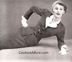 Couture Allure Vintage Fashion: Vintage Suits - 1949