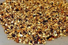 Muesli, Granola, How To Dry Basil, Brunch, Snacks, Herbs, Sweets, Breakfast, Desserts