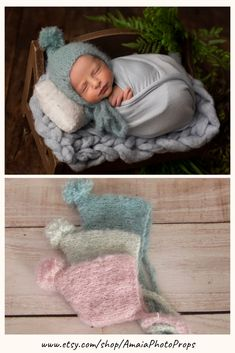 For unique knit newborn bonnets for baby photography, think Amaia Photo Props! From simple basic hats to unique lace designs perfect to fit different styles, we have everything you need to capture breathtaking images of your beautiful models! Click through and check all available colors and styles of our hats. #newbornphotoprops #newbornbonnet #newbornhatprop #amaiaphotoprops