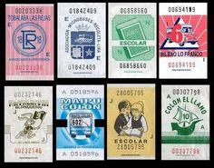 Boletos micro Chile, The Good Old Days, Retro, Nostalgia, Map, My Favorite Things, Vintage, Design, Monkey