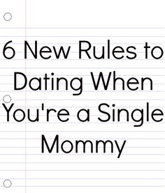 rules to follow when first dating