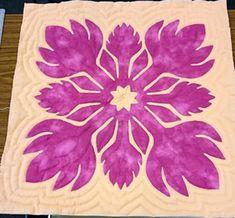 Mini Hawaiian quilt