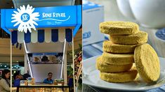 There's no need to fly to Dumaguete to solve your hankerings for Sans Rival Cakes & Pastries' buttery silvanas with their first Manila outpost at Glorietta Sans Rival, Makati City, Pastry Shop, Pastry Cake, Pinoy, Manila, Tasty, Treats, Breakfast
