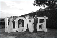LOVE is the theme of this Wedding by lizzie patterson photography