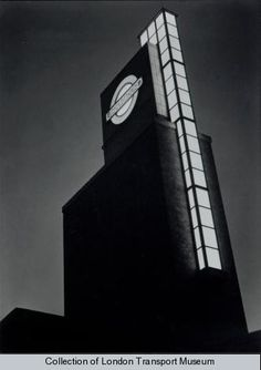 Boston Manor Station, London, by Charles Holden, 1932-1934