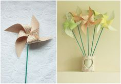 DIY Tutorial: Paper Windmills for the kids