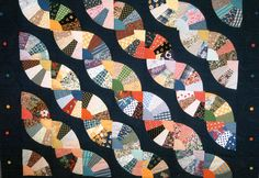 grandmother's fan quilt - Google Search