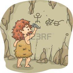caveman illustration - Google Search