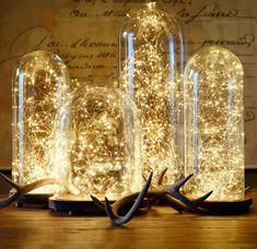 Новогодний декор со светодиодной гирляндой