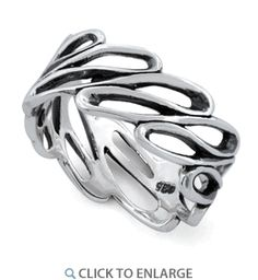 Sterling Silver Infinite Wave Ring dreamland