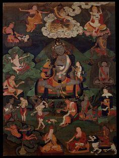 Indian Adept (siddha) - Padmavajra (HimalayanArt)