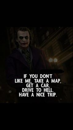 Joker Quotes From All The Movie - Quotes Swag Quotes, Boy Quotes, Wisdom Quotes, True Quotes, Words Quotes, Funny Quotes, Sayings, Quotes About Attitude, Positive Attitude Quotes