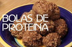 Bolitas de Proteina - Receta para un bocadillo saludable.