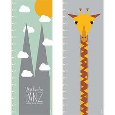 Messlatten-Poster Giraffe und Kölle von fraeulein ea ....  #hilfeichwachse #messlatte #kidsroomideas #kinderzimmer #poster #kölschepänz #köln #dreieck #triangles #dawanda #designausköln