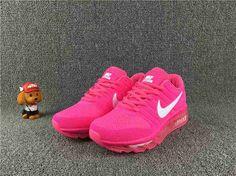 Nike Air Max 2017 Women Peach White Sapatilhas, Tênis Sneaker Feminino, Tênis Para Meninas, Moda Sneakers, Tênis Nike, Sapatos Nike Femininos, Tênis De Bicicleta, Botas E Sapatos, Tênis Bonitos De Corrida