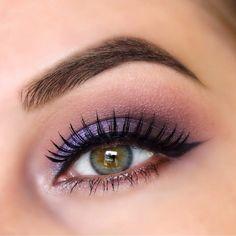 Gorgeous Purple Eye Makeup Look