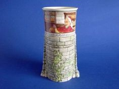 Royal Doulton 'Jackdaw of Rheims' 7131 Tower Vase D2532 c1910