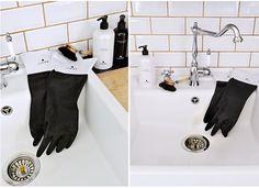 Dermosil Living dishwashing gloves Dishwashing Gloves, Bath Caddy, Kitchen, Inspiration, Products, Biblical Inspiration, Cooking, Kitchens, Cuisine