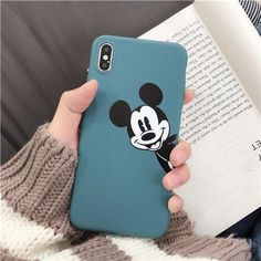 iPhone Phone Cases Cartoon Mickey Back Cover Iphone 8 Plus, Iphone 7, Coque Iphone, Iphone Phone Cases, Iphone 32gb, Apple Iphone, Mickey Mouse Phone, Mickey Mouse Cartoon, Cute Cartoon