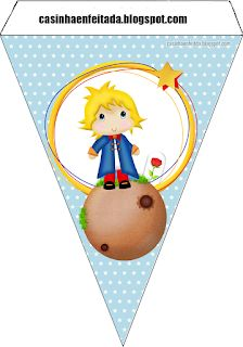 Mini Kit para Fiesta del Principito para Imprimir Gratis. The Little Prince Theme, Little Prince Party, Free Banner, Diy Banner, Art Festa, Baby Shawer, Bday Cards, Baby Shower Parties, Party Printables