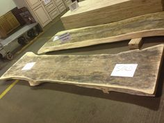 Unfinished Tamarind Countertop At Southeastern Salvage. June 18, 2013