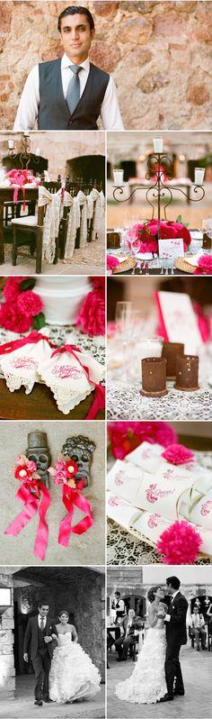 Delesie~ Mexico wedding