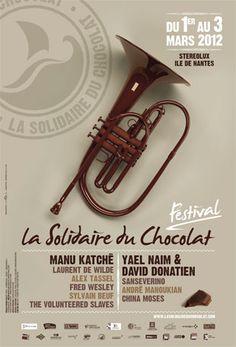 poster / Festival la Solidaire du Chocolat 2012