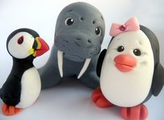Puffin, Penguin, Walrus