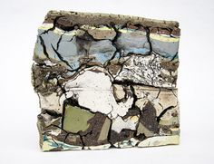 Jonathan Mess Landfill Northern Cross Section, 2012 Various clays, glazes, and stains Contemporary Artwork, Contemporary Ceramics, Contemporary Artists, Ceramic Clay, Ceramic Pottery, Pottery Art, Cross Section, Ceramic Materials, Clay Projects