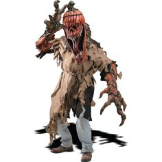 Bad Seed Creature Reacher Halloween Costume for Adults - Extra Large