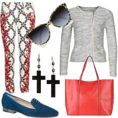 Pantalones estampados, mocasines, cruces... ♥