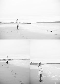 Beautiful Outdoor Family Maternity Photos in British Columbia