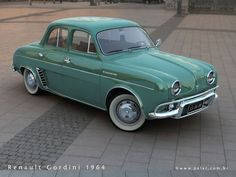 1964 Renault 8 Gordini reached a top speed of 170 kph & covered a kilometer in 33 secs. A sports model well-adapted to road driving, the Renault 8 Gordini offers unrivalled value for money. Original paint jobs featured an inimitable look, with blue France 418 paintwork accentuated by two white decal strips. More than 2,600 models were produced in the first year.