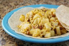 My recreation of the breakfast tacos from Juan in a Million in Austin, Texas. Best breakfast in the world.