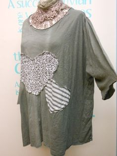 QUIRKY LAGENLOOK DISTRESSED KHAKI BATWING JUMPER TOP FITS UK PLUS SIZES 18-22 | eBay