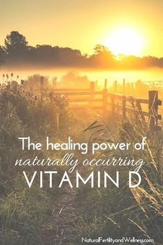"Vitamin D affectionately termed ""the sunshine vitamin"" and has also been called ""the nutrient of the century"". Naturally occurring vitamin D is so important Natural Fertility, Fertility Diet, Wellness Tips, Health And Wellness, Health Logo, Women's Health, Kidney Health, Menopause Diet, Green Living Tips"