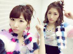 柏木由紀 - Yuki Kashiwagi - Yukirin & Watanabe Mayu (渡辺麻友) - #Mayuyu (まゆゆ) - #AKB48 #Team B #NGT48 #TeamN #Yukirin #rain #idol #jpop