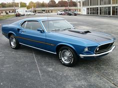 1969 Ford Mustang Mach I Had on just like this as my first car, back in high school. Ford Mustang Shelby Cobra, Mustang Mach 1, Mustang Boss, Car Ford, Ford Gt, Sexy Cars, Hot Cars, My Dream Car, Dream Cars