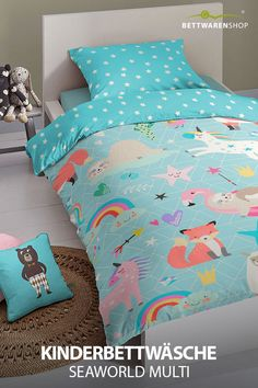 Einzelbett Sleepdown Mehrfarbig