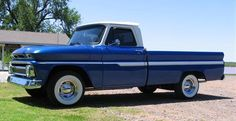 1965 Chevy C20 LWB Fleetside. Who says a 3/4 ton LWB truck can't be a hot rod.