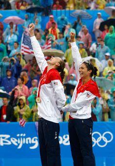 Kerri Walsh and Misty May-Treanor.