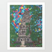 Art Print featuring Tiger Hill by Juliana Kroscen Got Print, Design Trends, The Originals, Frame, Prints, Artwork, Painting, Homes, Work Of Art