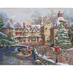 Christmas Cove - Dimensions Gold cross stitch