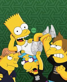 EffortlesslyFly.com - Kicks x Clothes x Photos x FLY SH*T!: Bart & Homer Simpson Get Imagined as Sneakerheads ...