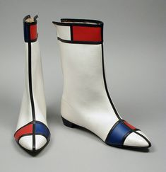 Pair of Woman's Boots | LACMA Collections